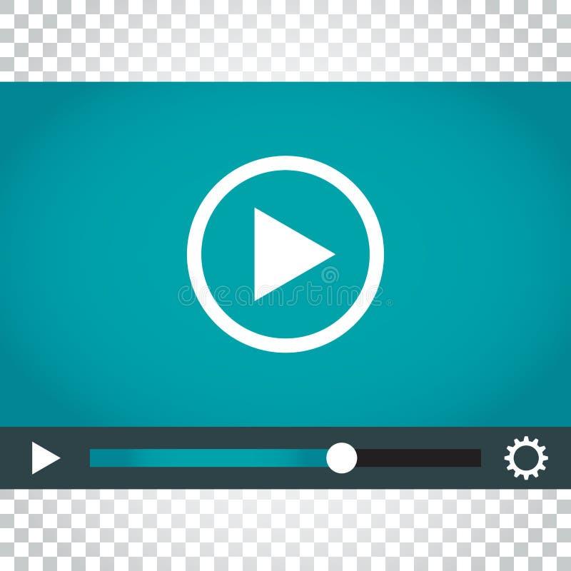 Download Spielikonenvektor Spielvideoillustration In Der Flachen Art Einfach Vektor Abbildung - Illustration von digital, film: 96936036