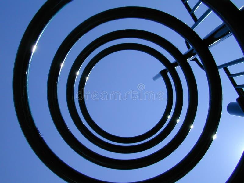 Spielplatz-Perspektive Lizenzfreies Stockfoto