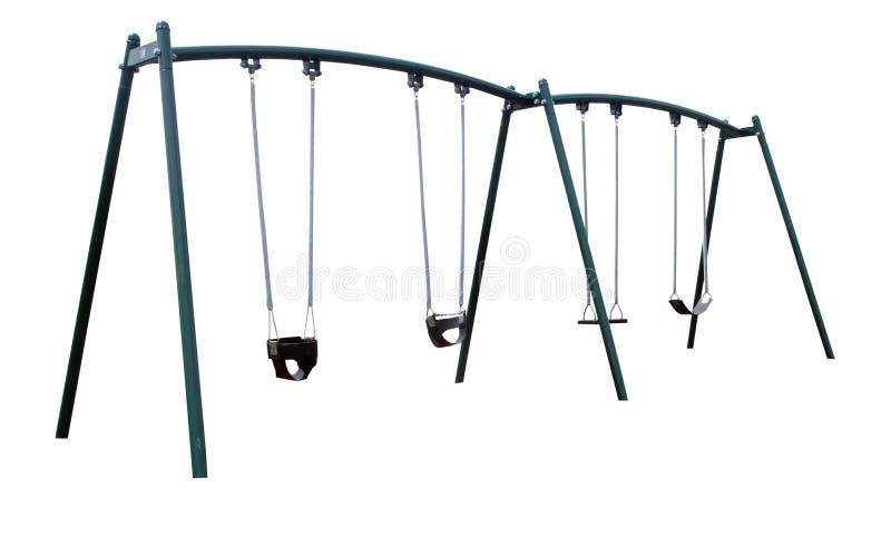 Spielplatz-Schwingen lizenzfreies stockfoto