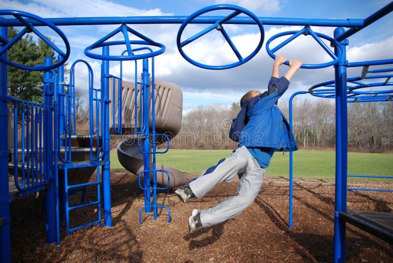 Spielplatz-Spaß lizenzfreie stockbilder