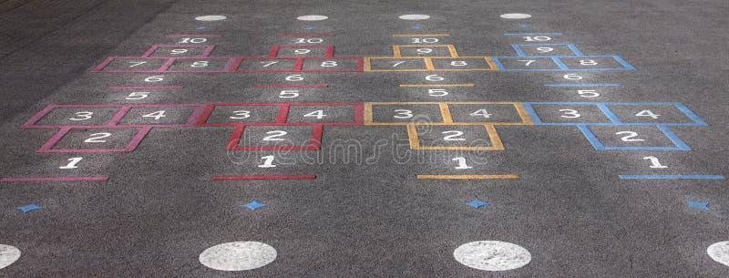 Spielplatzhopse stockbilder