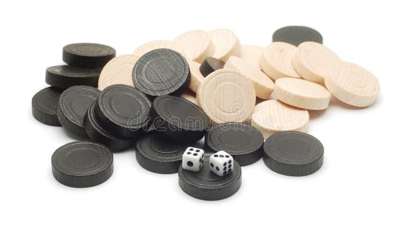 Spielstücke lizenzfreies stockfoto
