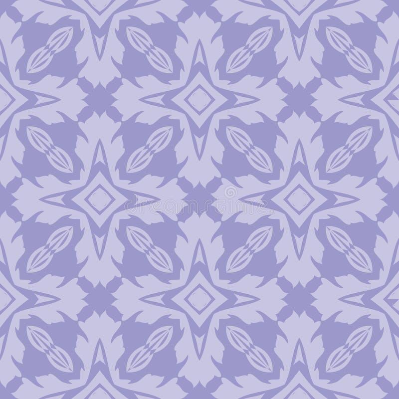 Spielt Musterhintergrundillustration des n-Schiffsdesigns nahtlose im hellen bläulichen Ton die Hauptrolle stock abbildung