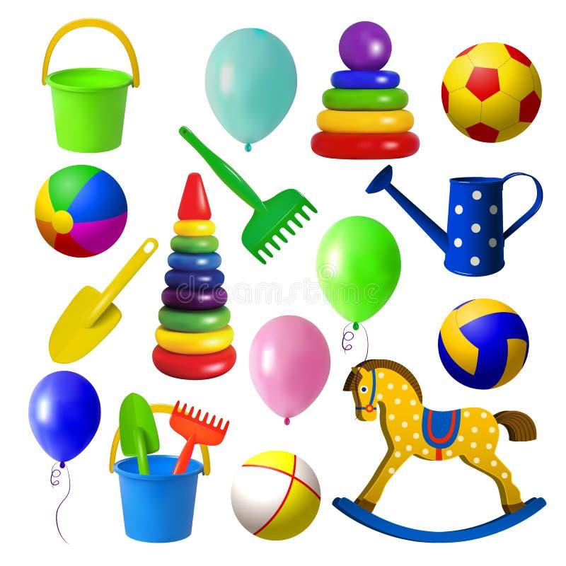 Spielwaren für children stock abbildung