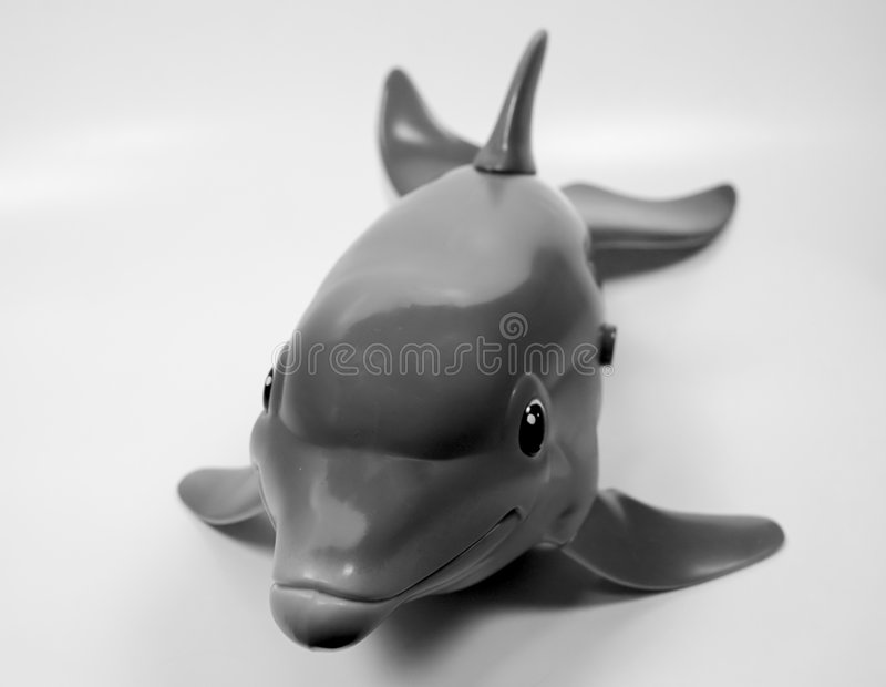 Spielzeug-Delphin stockfotos