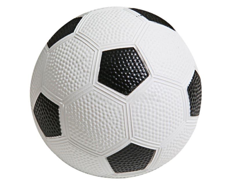 Spielzeug-Fußball-Kugel stockbild