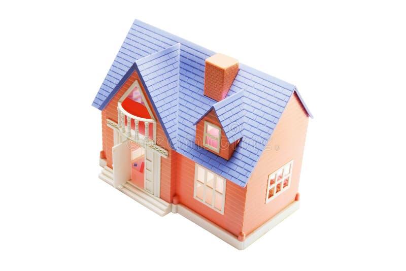 Spielzeug-Haus stockbild