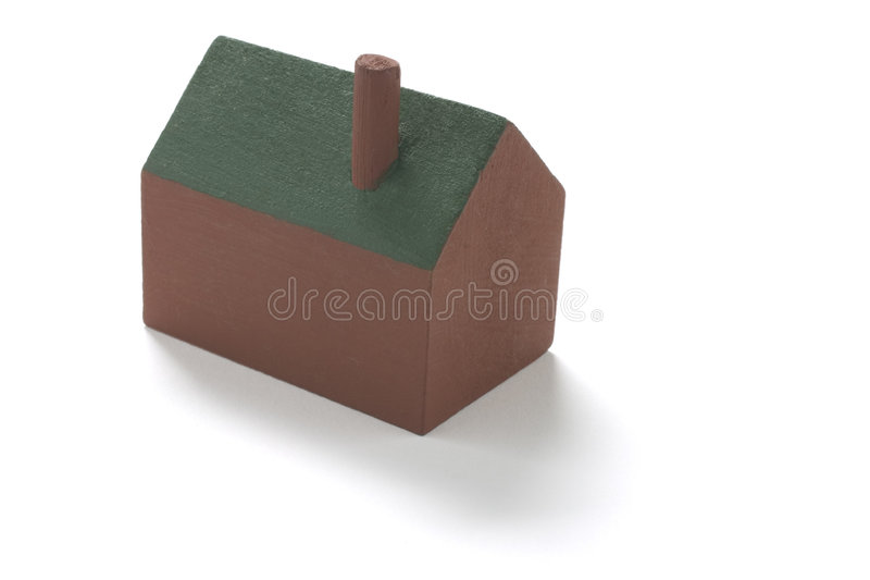 Spielzeug-Haus stockfotos