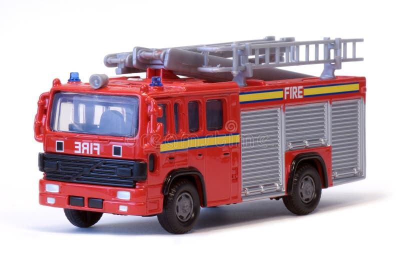 Spielzeug-London-Löschfahrzeug stockbild