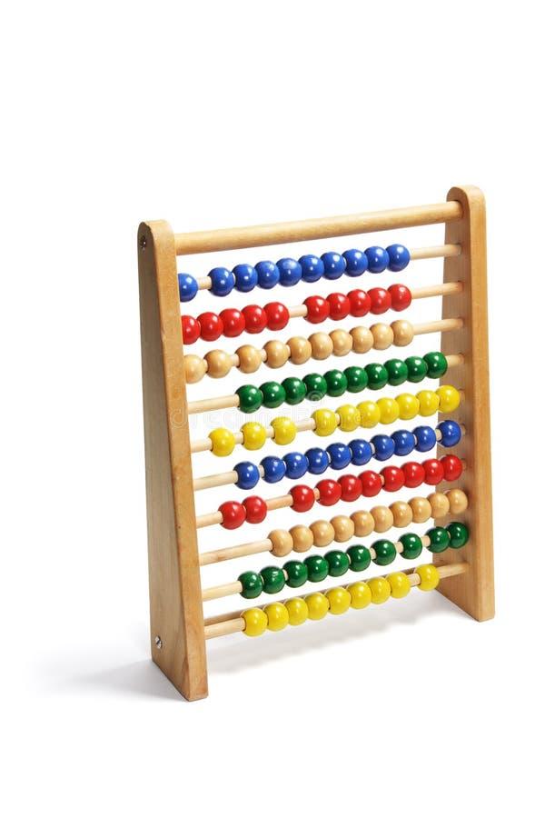 Spielzeug-Rechenmaschine stockbild