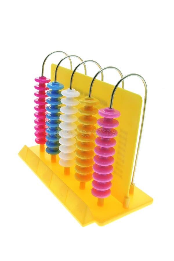 Spielzeug-Rechenmaschine stockfoto