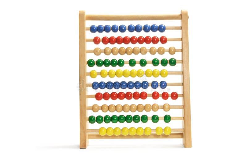 Spielzeug-Rechenmaschine stockfotografie