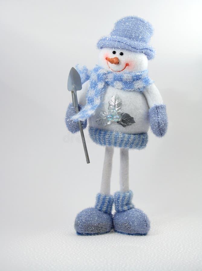 Spielzeug-Schneemann lizenzfreies stockbild