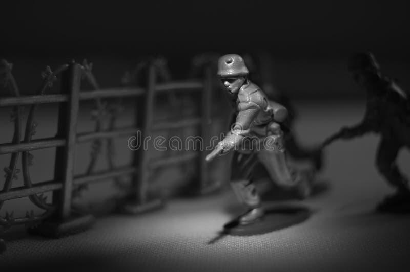 Spielzeug-Soldat lizenzfreie stockfotos