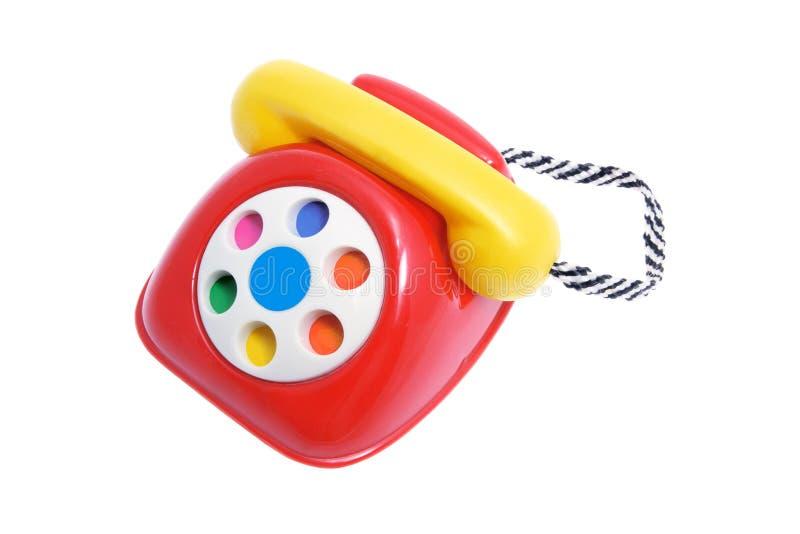 Spielzeug-Telefon lizenzfreie stockfotos