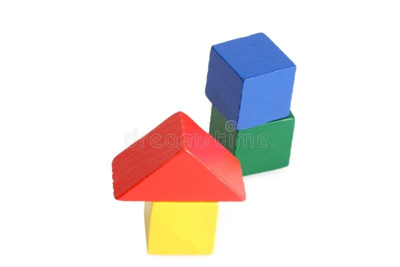 Spielzeug-Ziegelsteine lizenzfreies stockfoto