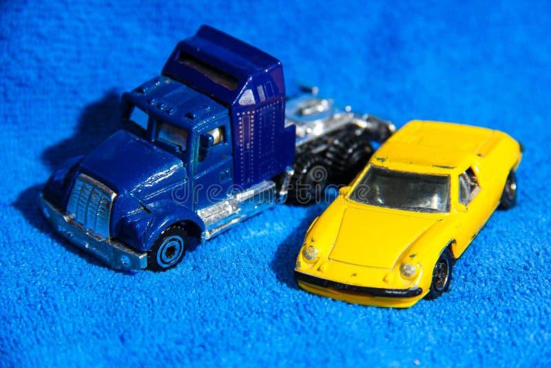 Spielzeugauto stockfoto