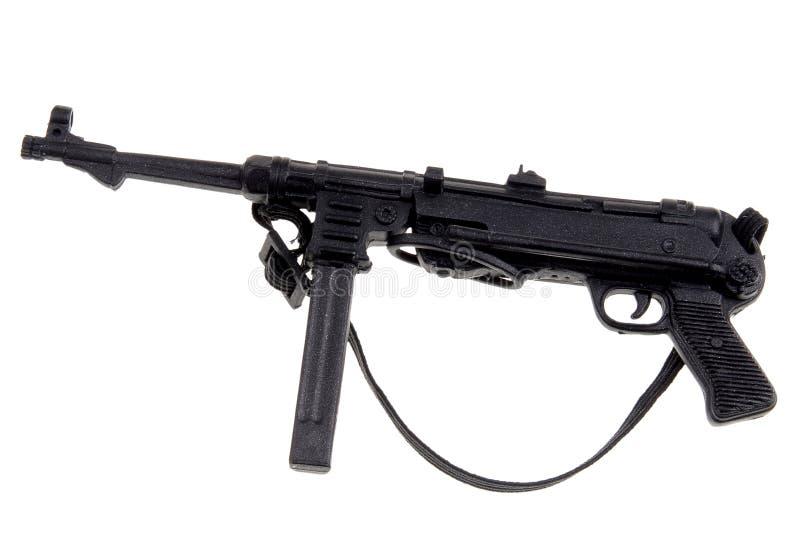 Spielzeugdeutsch-Maschinengewehr stockfotos