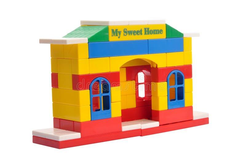 Spielzeughaus lizenzfreie stockfotografie