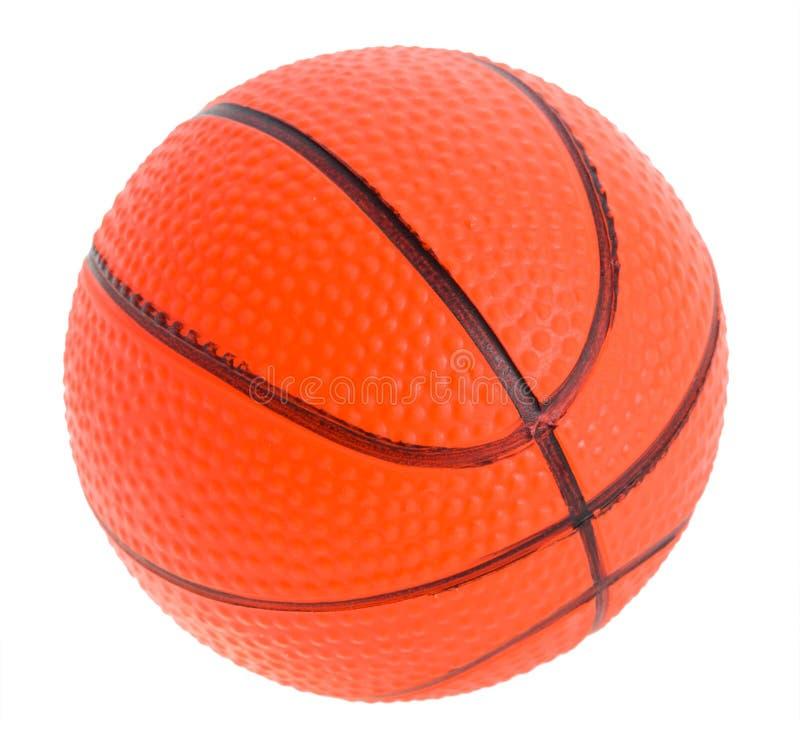 Spielzeugkugel für Basketball stockbilder