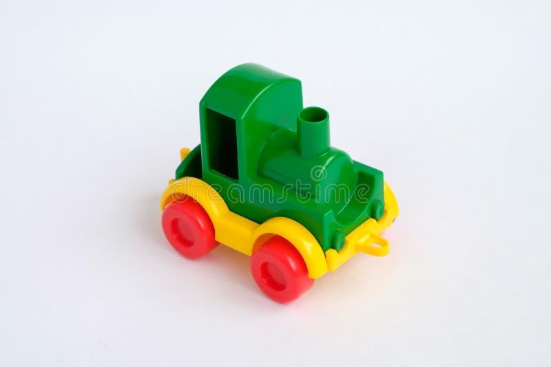 Spielzeugserie getrennt auf dem weißen Hintergrund lizenzfreies stockfoto