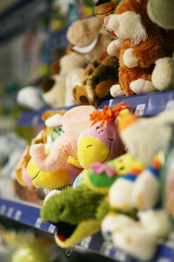 Spielzeugspeicher stockbilder