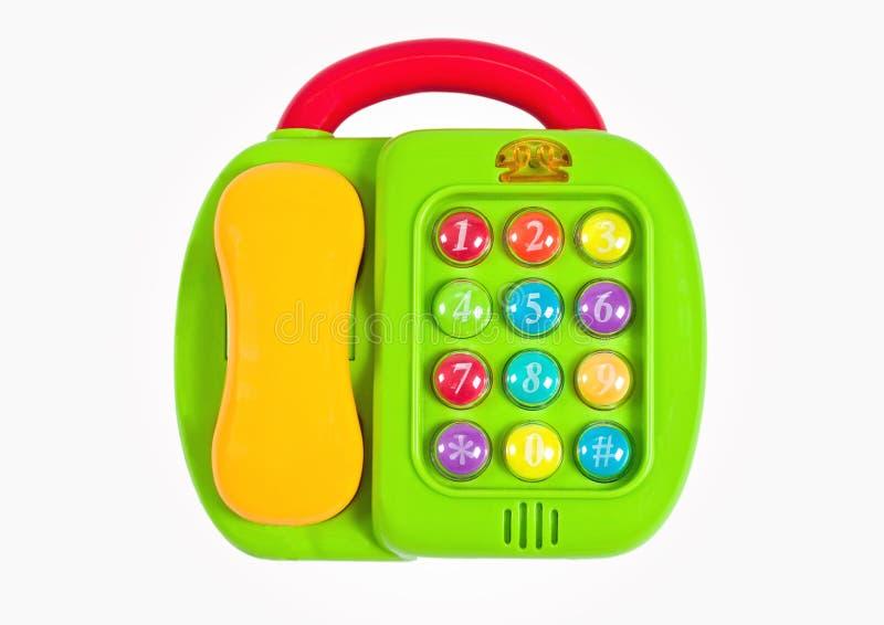 Spielzeugtelefon lizenzfreie stockbilder