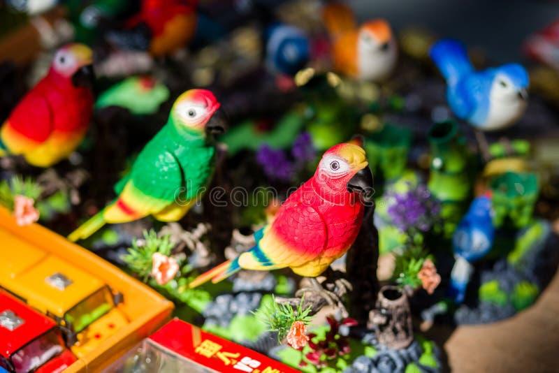 Spielzeugvogel lizenzfreies stockbild