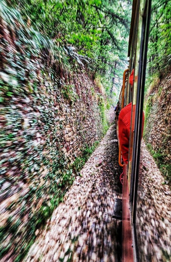 Spielzeugzugliebe Shimla-Leben stockfotografie