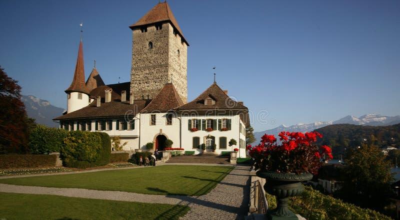 Spiez Castle royalty free stock image