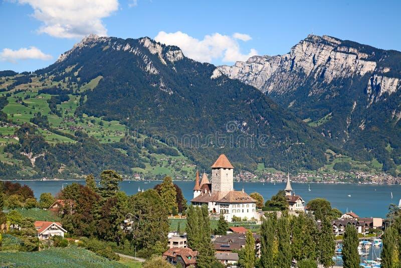 Download Spiez castle stock image. Image of nature, beautiful - 39306595