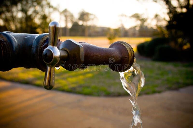 Download Spigot Flowing stock image. Image of brass, gushing, utilities - 5013889
