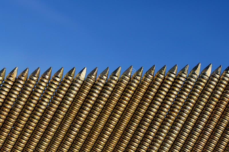 Download Spikar rad fotografering för bildbyråer. Bild av buick, stöd - 46413
