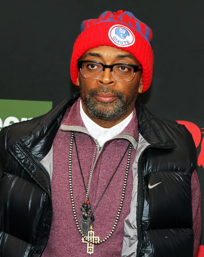 Spike Lee lizenzfreie stockfotografie