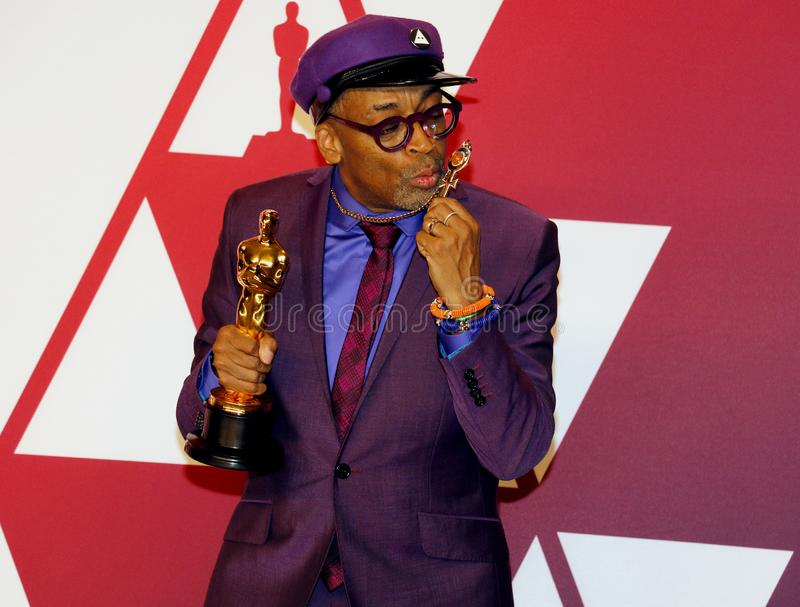 Spike Lee image libre de droits