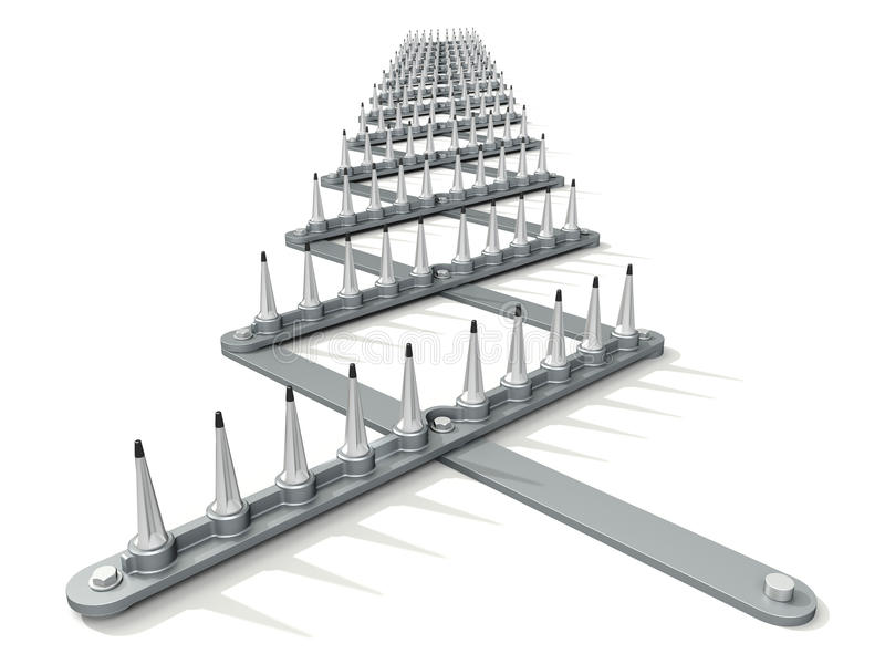 Download Spike Strip Royalty Free Stock Image - Image: 30894106