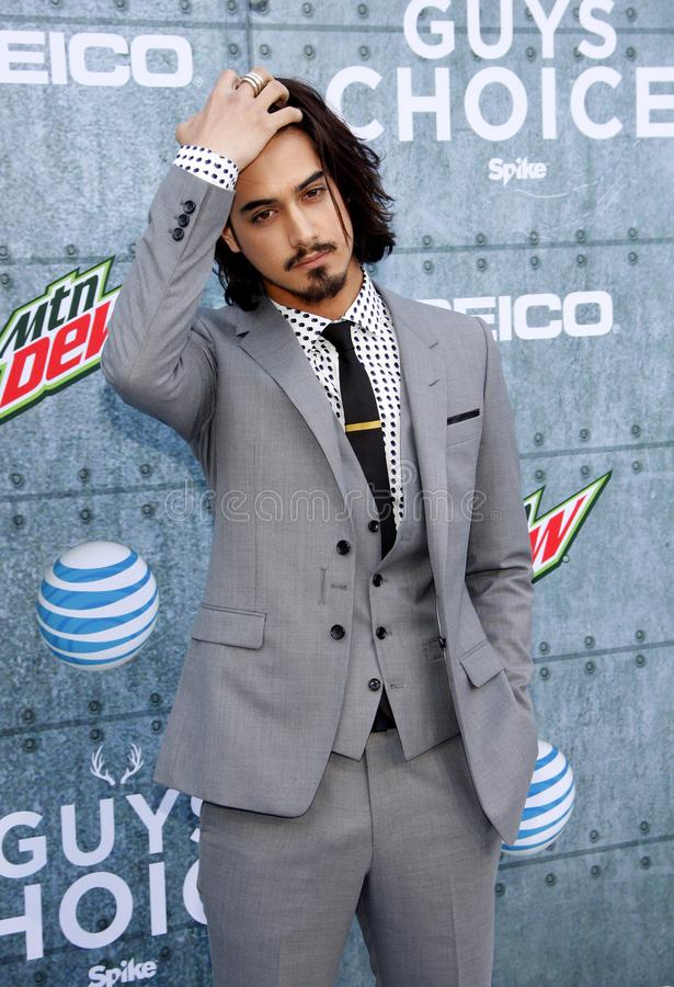 2015 Spike TV`s Guys Choice Awards. Avan Jogia at the 2015 Spike TV`s Guys Choice Awards held at the Sony Pictures Studios in Culver City, USA on June 6, 2015 royalty free stock photo