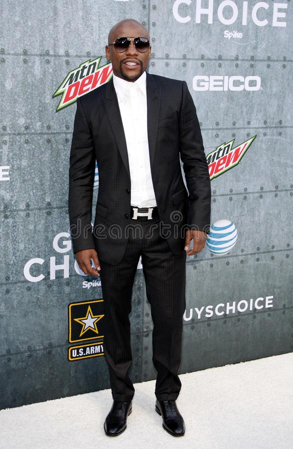 2015 Spike TV`s Guys Choice Awards. Floyd Mayweather Jr. at the 2015 Spike TV`s Guys Choice Awards held at the Sony Pictures Studios in Culver City, USA on June royalty free stock photography