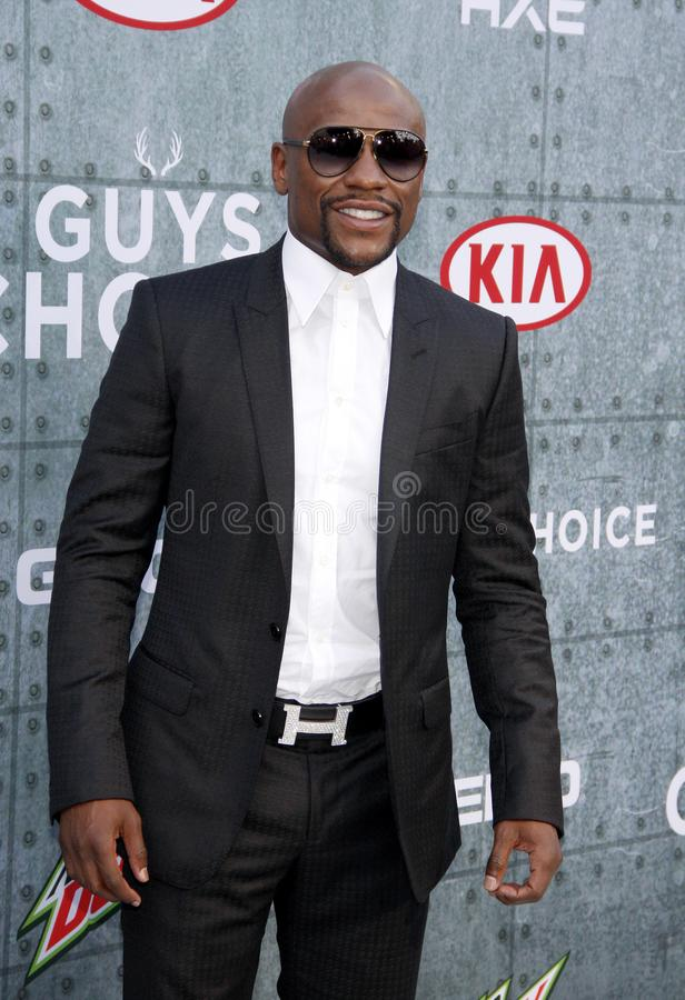 2015 Spike TV`s Guys Choice Awards. Floyd Mayweather Jr. at the 2015 Spike TV`s Guys Choice Awards held at the Sony Pictures Studios in Culver City, USA on June stock photos