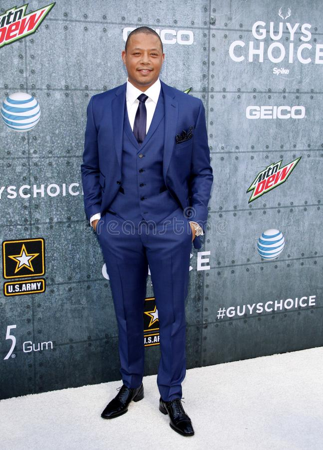 2015 Spike TV`s Guys Choice Awards. Terrence Howard at the 2015 Spike TV`s Guys Choice Awards held at the Sony Pictures Studios in Culver City, USA on June 6 stock photo