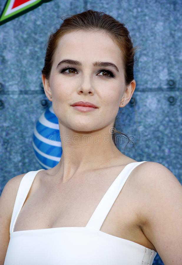 2015 Spike TV`s Guys Choice Awards. Zoey Deutch at the 2015 Spike TV`s Guys Choice Awards held at the Sony Pictures Studios in Culver City, USA on June 6, 2015 stock images