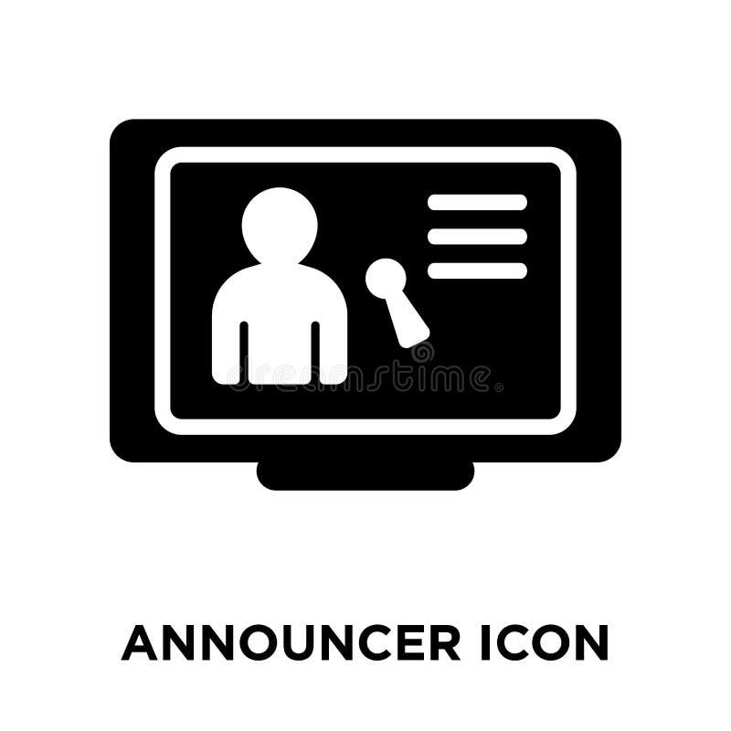 Spiker ikony wektor odizolowywający na białym tle, loga pojęcie royalty ilustracja