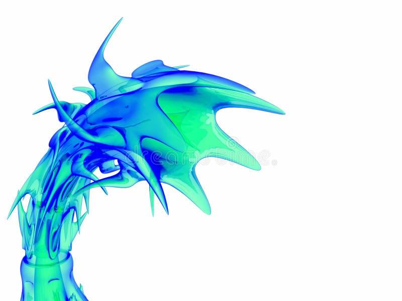 spiky конуса органическое иллюстрация вектора