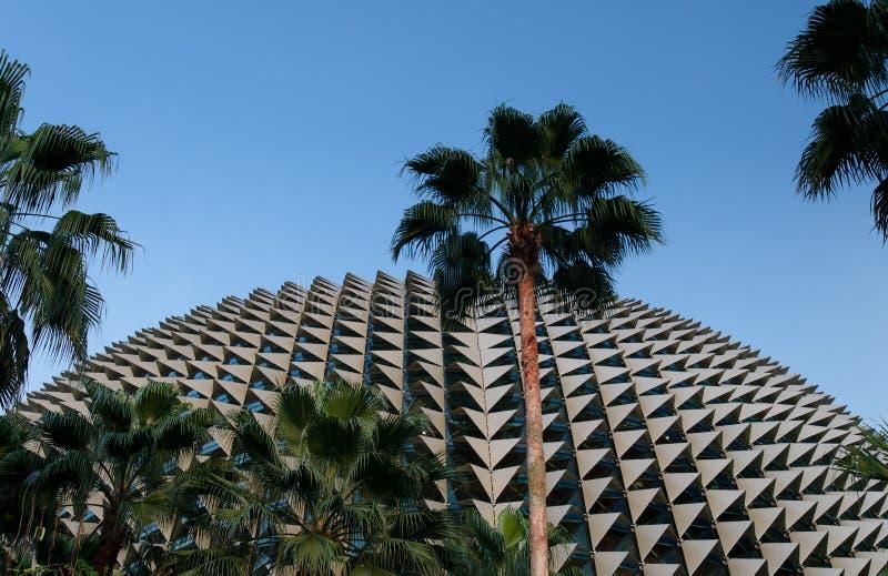 Spiky Profile Of Esplanade Theatre, Singapore Royalty Free Stock Photo
