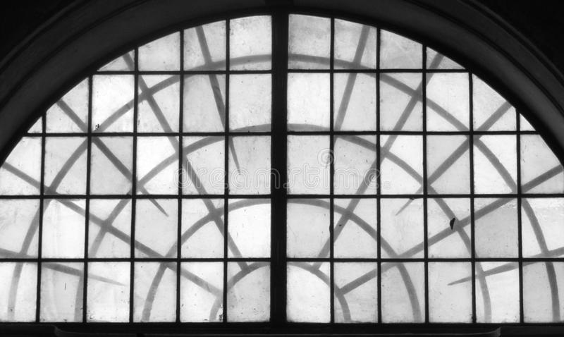 Spiky window royalty free stock photography