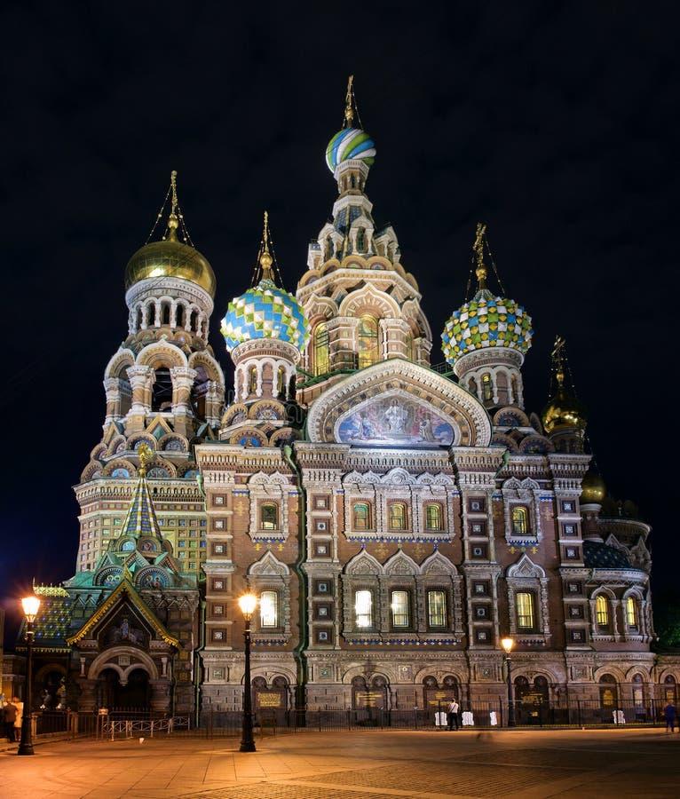 spilld kyrklig frälsare för blod petersburg russia st fotografering för bildbyråer