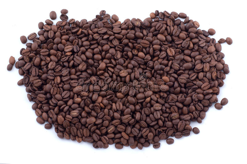 Download Spilled coffee beans stock image. Image of scattered - 33730351