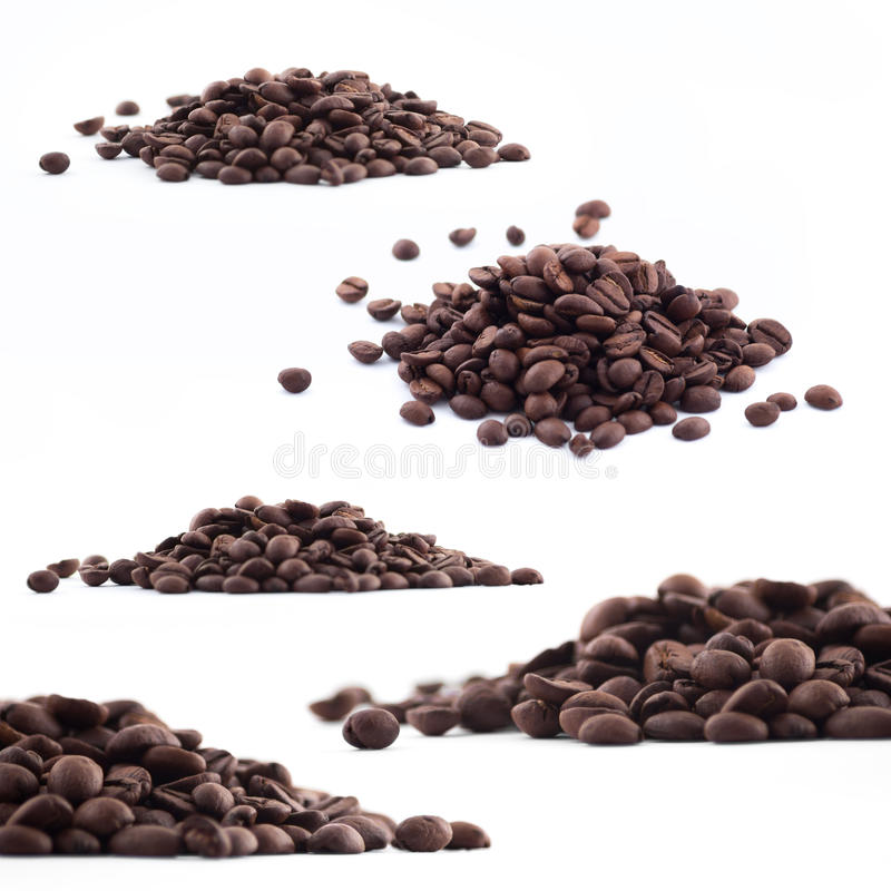 Download Spilled Coffee Beans Royalty Free Stock Photography - Image: 33698547