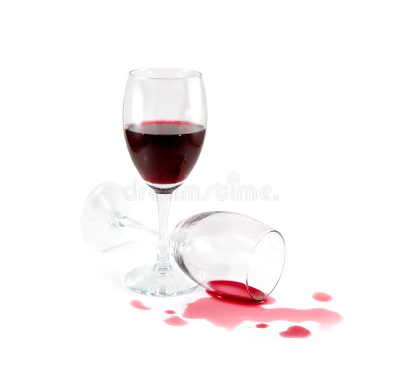 Download Spilled Red Wine Royalty Free Stock Image - Image: 13294536