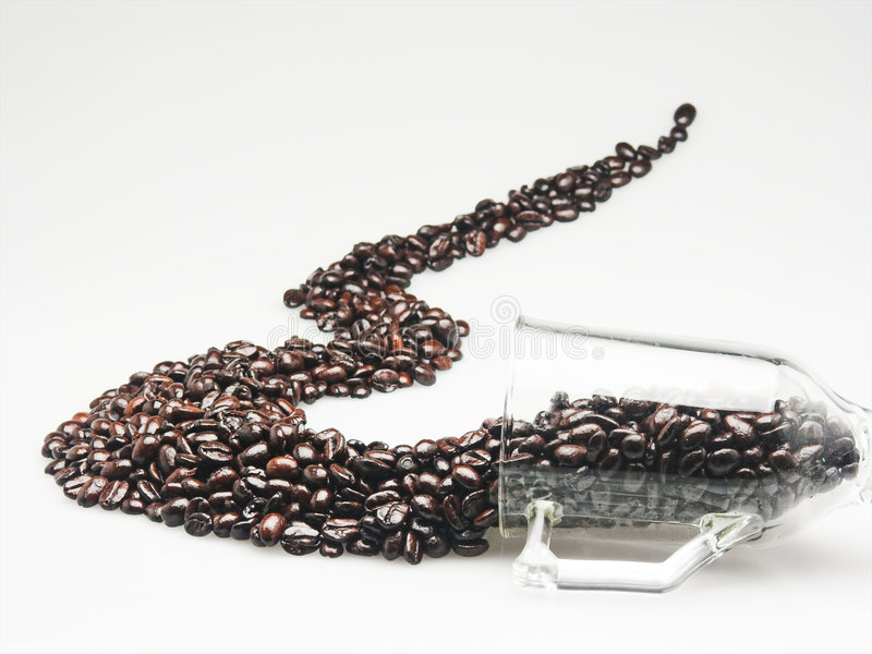 Spilling the Beans stock photos